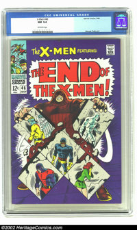 X-Men #46 (Marvel, 1968) CGC NM 9.4 Off-white pages. Overstreet 2002 NM 9.4 value = $95