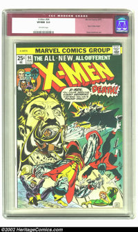 X-Men #94 (Marvel, 1975) CGC VF/NM 9.0 Off-white pages. 1st appearance of New X-Men; New X-Men begin (from Giant-Size X-...