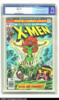 X-Men #101 (Marvel, 1976) CGC NM+ 9.6 White pages. Origin and first appearance of Phoenix. Overstreet 2002 NM 9.4 value...