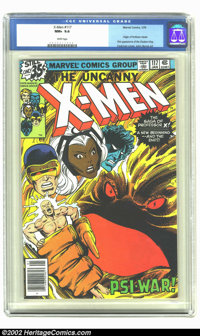 X-Men #117 (Marvel, 1979) CGC NM+ 9.6 White pages. Overstreet 2002 NM 9.4 value = $60