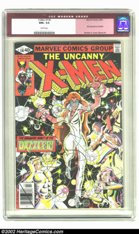 X-Men #130 (Marvel, 1980) CGC NM+ 9.6 White pages. First appearance Dazzler. Overstreet 2002 NM 9.4 value = $50