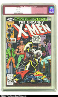 X-Men #132 (Marvel, 1980) CGC NM+ 9.6 White pages. Fantastic art by John Byrne is the highlight of this issue featuring...