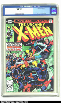 X-Men #133 (Marvel, 1980) CGC NM+ 9.6 White pages. This issue features an awesome cover and interior art by John Byrne...
