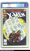 Modern Age (1980-Present):Superhero, X-Men #141 (Marvel, 1981) CGC NM/MT 9.8 White pages. This may wellbe one of the most important comics to come out of the mo...