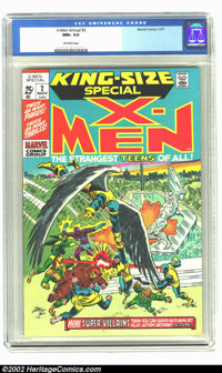 X-Men Annual #2 (Marvel, 1971) CGC NM+ 9.6 Off-white pages. No copies have been graded higher than this one. Overstreet...