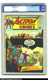 Action Comics #412 (DC, 1972) CGC NM+ 9.6 Off-white pages. Overstreet 2002 NM 9.4 value = $28