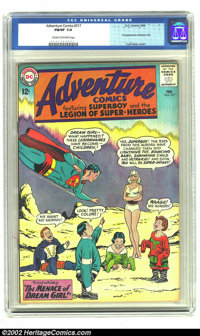 Adventure Comics #317 (DC, 1964) CGC FN/VF 7.0 Cream to off-white pages. Overstreet 2002 FN 6.0 value = $24; VF 8.0 valu...