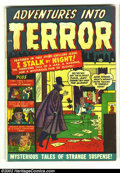 Golden Age (1938-1955):Horror, Adventures Into Terror #3 (Atlas, 1951) Condition: GD+. Overstreet2002 GD 2.0 value = $29.  From the collection of Bobby ...