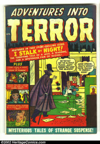 Adventures Into Terror #3 (Atlas, 1951) Condition: GD+. Overstreet 2002 GD 2.0 value = $29. From the collection of Bobby...