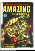 Golden Age (1938-1955):Science Fiction, Amazing Adventures #3 (Ziff-Davis, 1951) Condition: FN+. A greatcover from a great publisher. Overstreet 2002 FN 6.0 value ...