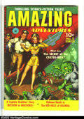 Golden Age (1938-1955):Science Fiction, Amazing Adventures #5 (Ziff-Davis, 1951) Condition: FN-. Overstreet2002 FN 6.0 value = $114....