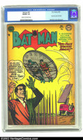 Golden Age (1938-1955):Superhero, Batman #81 (DC, 1954) CGC VG/FN 5.0 Cream to off-white pages. Two-Face cover and story. Overstreet 2002 GD 2.0 value = $64; ...