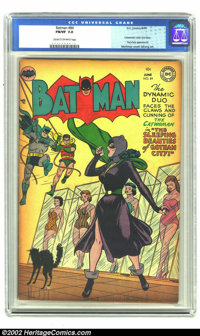 Batman #84 (DC, 1954) CGC FN/VF 7.0 Cream to off-white pages. Catwoman cover and story. Two-Face appearance. Overstreet...