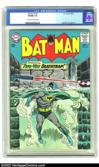 Batman #166 (DC, 1964) CGC VF/NM 9.0 Cream to off-white pages. Overstreet 2002 NM 9.4 value = $110