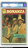 Silver Age (1956-1969):Western, Bonanza #nn (Dell, 1962) CGC FN+ 6.5 Cream to off-white covers. Photo cover; sometimes listed as Four Color #01070-207. ...