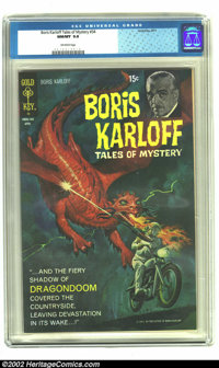 Boris Karloff Tales of Mystery #34 (Gold Key, 1971) CGC NM/MT 9.8 Off-white pages. This copy is absolutely stunning. You...