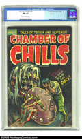 Golden Age (1938-1955):Horror, Chamber of Chills #20 (Harvey, 1953) CGC FN+ 6.5 Cream to off-whitepages. Nostrand cover. Powell art. Overstreet 2002 FN 6....