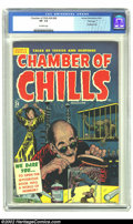 Golden Age (1938-1955):Horror, Chamber of Chills 24 (#4) File Copy (Harvey, 1951) CGC VF- 7.5Off-white pages. Bondage cover by Elias. Powell, Elias art. O...