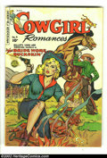 Golden Age (1938-1955):Romance, Cowgirl Romances #4 (Fiction House, 1951) Condition: VG+. BeautifulFiction House comic. Overstreet 2002 GD 2.0 value = $16;...