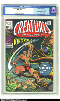 Creatures on the Loose #10 (Marvel, 1971) CGC NM+ 9.6 Off-white pages. No copies graded higher by CGC. Overstreet 2002 N...