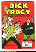 Silver Age (1956-1969):Adventure, Dick Tracy Service Station Giveaway nn (Harvey, 1958) Condition: VF+. Overstreet 2002 VF 8.0 value = $15; NM 9.4 value = $20...