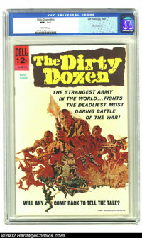 Dirty Dozen nn (Dell, 1967) CGC NM+ 9.6 Off-white pages. Movie Classics (12-180-710). Super cover! Very tough to find in...