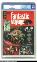 Fantastic Voyage #1 (Gold Key, 1967) CGC NM 9.4 White pages. Movie Comics (10178-702) with Photo Cover. Wally Wood and D...