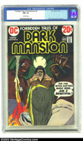 Bronze Age (1970-1979):Horror, Forbidden Tales of Dark Mansion #9 (DC, 1973) CGC NM- 9.2 Off-whitepages. Tough Bronze Age horror with great Neal Adams cov...