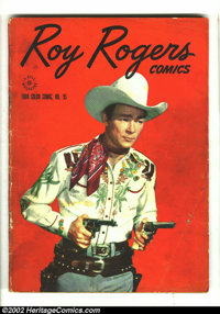 Four Color #95 (Dell, 1945) Condition: VG-. Early Roy Rogers. Overstreet 2002 GD 2.0 value = $35; FN 6.0 value = $106...