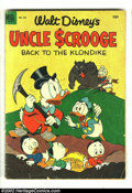 Golden Age (1938-1955):Cartoon Character, Four Color #495 (Dell, 1953) Condition: GD+. Uncle Scrooge (#3); Next issue was #4, going into its own series. Overstreet 20...