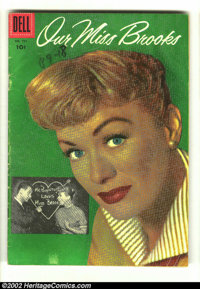 Four Color #751 (Dell, 1956) Condition: VG-. Overstreet 2002 GD 2.0 value = $8; FN 6.0 value = $24