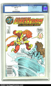 Fury of Firestorm #61 (DC, 1987) CGC NM 9.4 White pages. Logo variant; Brozowski and Giordano art. Overstreet 2002 NM 9...