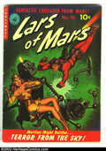 Golden Age (1938-1955):Science Fiction, Lars of Mars #10 (Ziff-Davis, 1951) Condition: VG+. Beautiful Robotpainted cover. Overstreet 2002 GD 2.0 value = $80; FN 6....