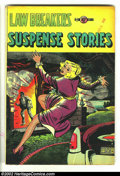 Golden Age (1938-1955):Crime, Law Breakers Suspense Stories 10 (#1) (Charlton, 1953) Condition: VG+. Overstreet 2002 GD 2.0 value = $38; FN 6.0 value = $1...