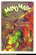 Golden Age (1938-1955):Science Fiction, Man O' Mars #1 (Fiction House, 1953) Condition: FN+. Fantastic, andbizarre cover. Overstreet 2002 FN 6.0 value = $120....