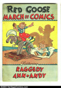 Golden Age (1938-1955):Cartoon Character, March of Comics #23 (K. K. Publications, Inc., 1948) Condition:VF-. Really nice Raggedy Ann + Andy issue. Overstreet 2002 V...