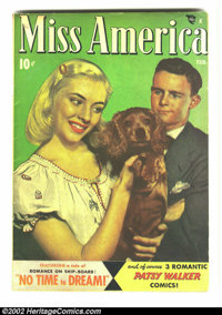 Miss America Magazine vol 7 #7 (Timely, 1948) Condition: VF. Overstreet 2002 GD 2.0 value = $6; FN 6.0 value = $18
