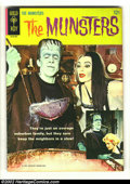 Silver Age (1956-1969):Horror, Munsters #1 (Gold Key, 1965) Condition: FN. Cool first issue with agreat photo cover. Overstreet 2002 FN 6.0 value = $57....