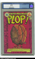 Bronze Age (1970-1979):Humor, Plop #7 (DC, 1974) CGC NM 9.4 Off-white to white pages. Overstreet2002 NM 9.4 value = $14. ...