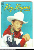 Golden Age (1938-1955):Western, Roy Rogers Comics lot (Dell, 1949) Condition: averages VG. This lot contains issues 6, 13, 46, 52 and 61. Overstreet 2002 va... (Total: 5 Comic Books Item)