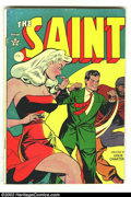 Golden Age (1938-1955):Adventure, Saint #1 Canadian version (Avon, 1947) Condition: VG. Overstreet 2002 GD 2.0 value = $75; FN 6.0 value = $225 (For American ...