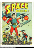 Golden Age (1938-1955):Science Fiction, Space Thrillers nn (Avon, 1954) Condition = Apparent GD. Somepieces replaced along the outer spine edge. Two small pieces o...