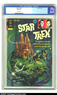 Star Trek #15 (Gold Key, 1972) CGC NM 9.4 Off-white pages. Great Bronze Age comic based on the hit television show. Over...