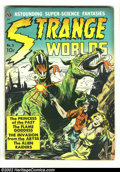 Golden Age (1938-1955):Science Fiction, Strange Worlds #3 (Avon, 1951) Condition: VG/FN. This comic islegendary for its amazing assemblage of talent. Stories are c...