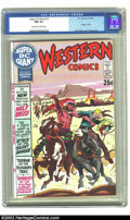 Bronze Age (1970-1979):Western, Super DC Giant #15 (DC, 1970) CGC NM 9.4 Off-white to white pages. Scarce DC Giant featuring Joe Kubert cover and Gil Kane a...