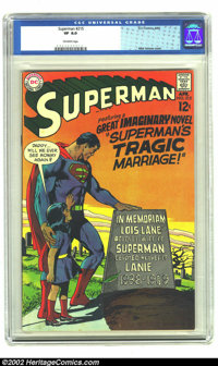 Superman #215 (DC, 1969) CGC VF 8.0 Off-white pages. Neal Adams cover. Overstreet 2002 VF 8.0 value = $29; NM 9.4 value...