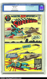 Superman #235 (DC, 1971) CGC VF+ 8.5 Cream to off-white pages. Neal Adams cover. Craig Swan and Murphy Anderson art. Ove...