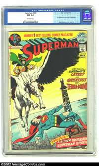 Superman #249 (DC, 1972) CGC NM 9.4 Off-white pages. First appearance and origin of Terra-Man. Neal Adams cover and art...