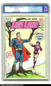 Superman's Girl Friend Lois Lane #112 (DC, 1971) CGC NM 9.4 Off-white to white pages. Dick Giordano cover and art. Overs...