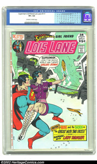 Superman's Girl Friend Lois Lane #117 (DC, 1971) CGC VF+ 8.5 Off-white to white pages. Rich Buckler and Dick Giordano ar...